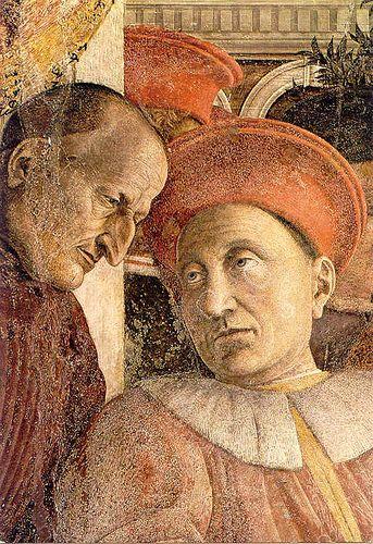 Andrea Mantegna,Camera degli Sposi(1465-1474) Palazzo Ducale, Mantova