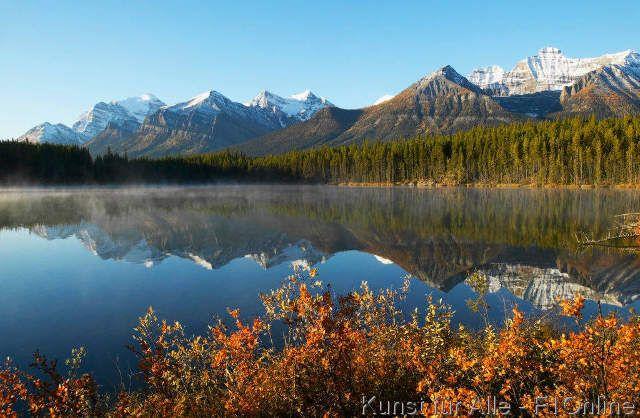 Herbert-See, Banff-Nationalpark
