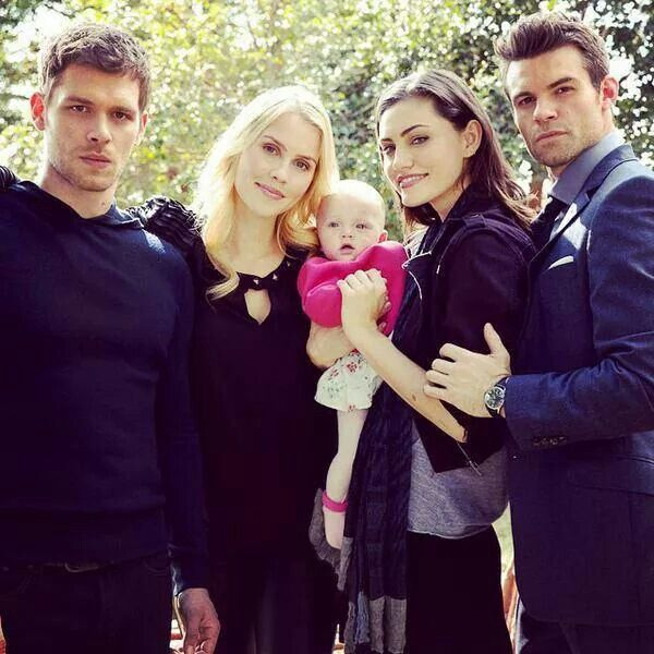 The Mikaelsons - Klaus, Rebekah, Hope, Elijah. And Hayley! Pintirest: @DanyelaChan ♔ Follow Me