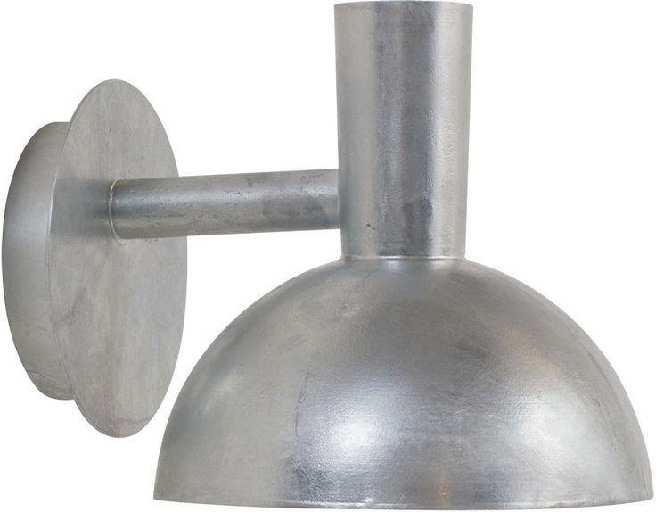 REA! Nordlux Arki outdoor Vägglampa Galvaniserat stål 20W E27 IP54 - HemOchBastu.se
