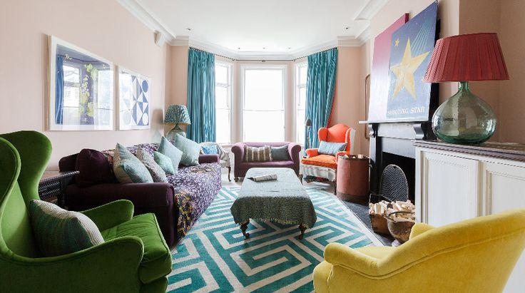 Bohemien arredamento ~ Stile bohemien e idee di arredamento per il soggiorno vintage