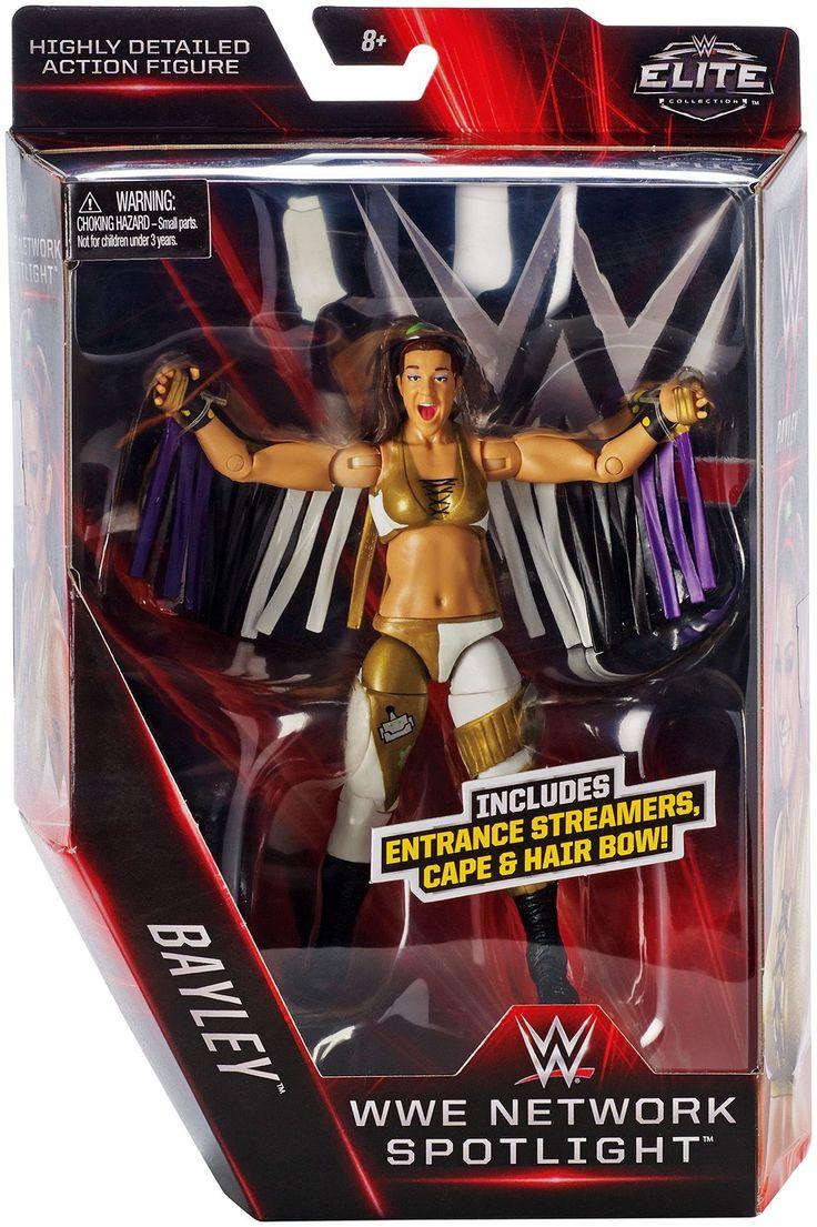Bayley - NXT WWE Network Spotlight Elite Exclusive Toy Wrestling Action Figure