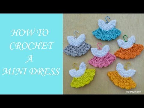 Crochet Mini Baby Shower Favors with Free Patterns -