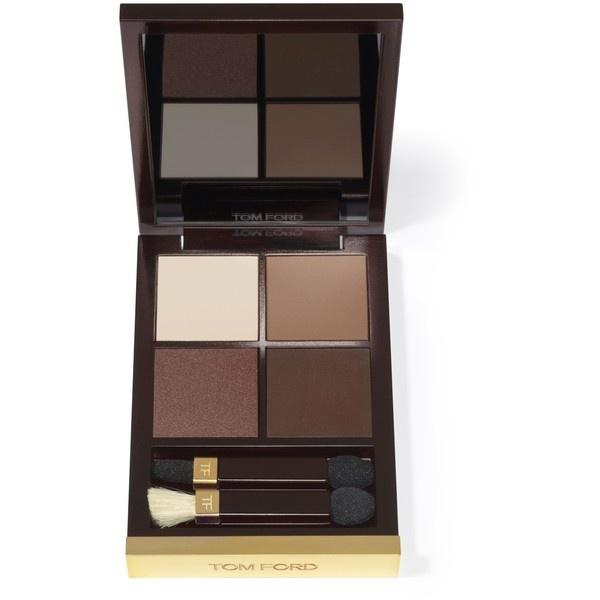 cores básicas para uma make up diurna!!!! Tom Ford Beauty Eye Color Quad found on Polyvore