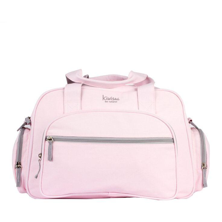 Bolso maternal en color rosa para llevar todas las cosas que necesita tu bebé.