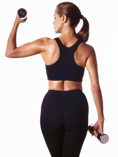 Arm Toning Exercises With 5 lb Weights