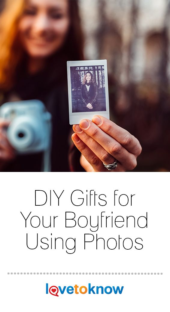 DIY Gifts for Your Boyfriend Using Photos
