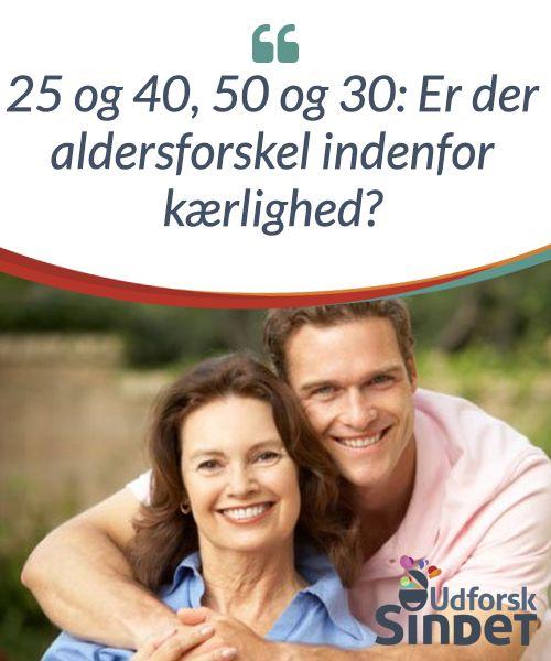 25 og 40, 50 og 30: Er der aldersforskel indenfor kærlighed?  Vi #tror normalt, at par med en stor #aldersforskel kun sker blandt #kendte #mennesker; men det er ikke #sandt.  #Anekdoter