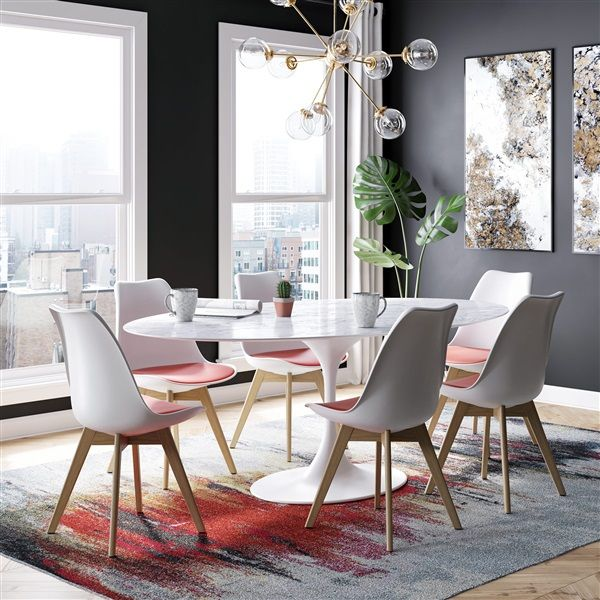 Luft Side Chair Set Of 2 In 2021 Dining Chairs Side Chair Dining Room Solid Wood Dining Chairs