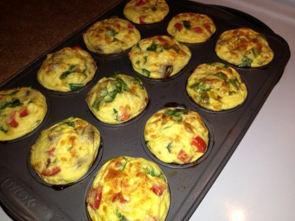 #Medifast friendly Veggie Egg Muffins
