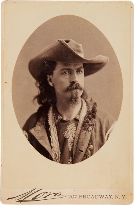 The 159 best legendary tales of annie oakley images on pinterest 44042 william f buffalo bill cody a striking origi on fandeluxe Image collections
