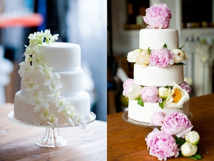 fresh flowers on a wedding cake best 25 peony wedding cakes ideas on peony 14478