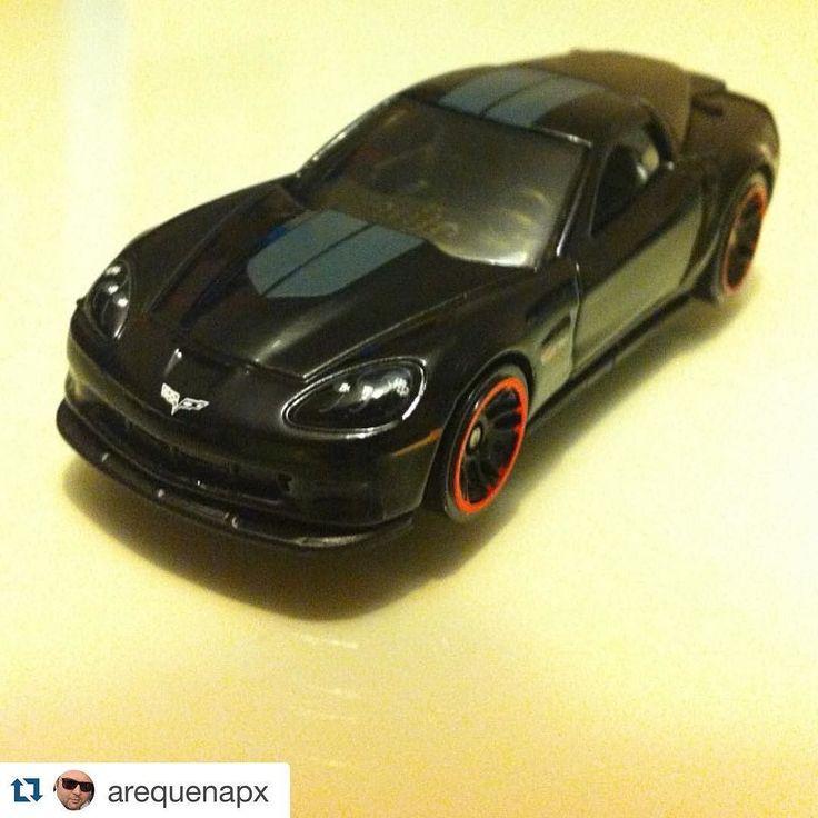 #Repost @arequenapx with @repostapp.  El nuevo #cochecito del peque #hotwheels #corvette #negro #black #toys #toycars #juguete #mattel by systemygram