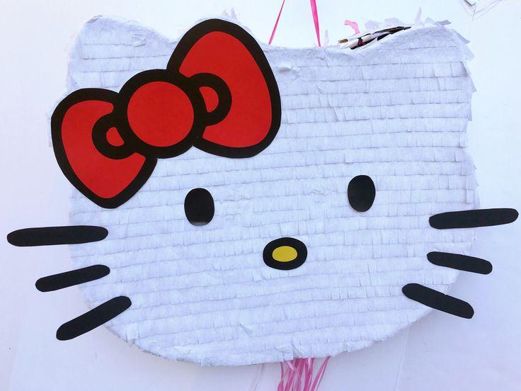PIÑATA de HELLO KITTY, fiesta de cumpleaños, favor, tire de pinata de cadena de TRUSTITI en Etsy https://www.etsy.com/es/listing/502749128/pinata-de-hello-kitty-fiesta-de