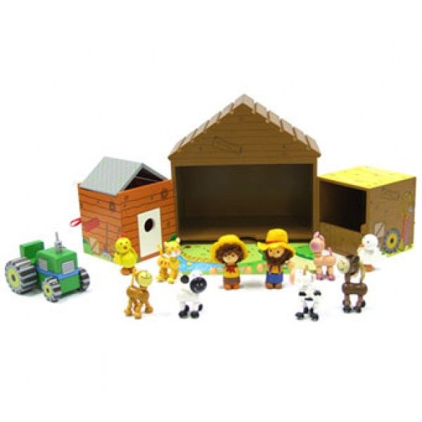 My Mini Farm House Wooden Playset