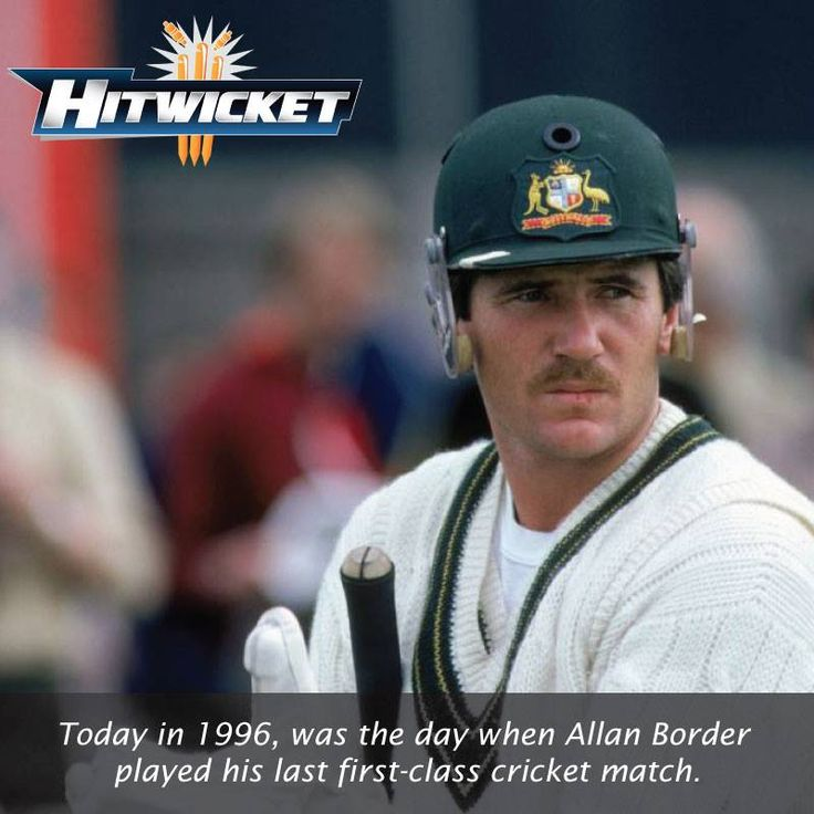 #crickethistory #today #alanborder #cricket