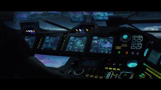 Prometheus - Ship Control panels #1