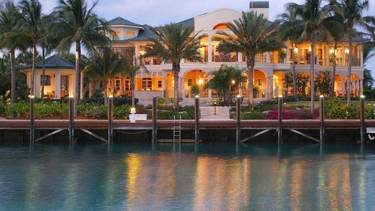 Million dollar ocean homes around the world-Bahamas
