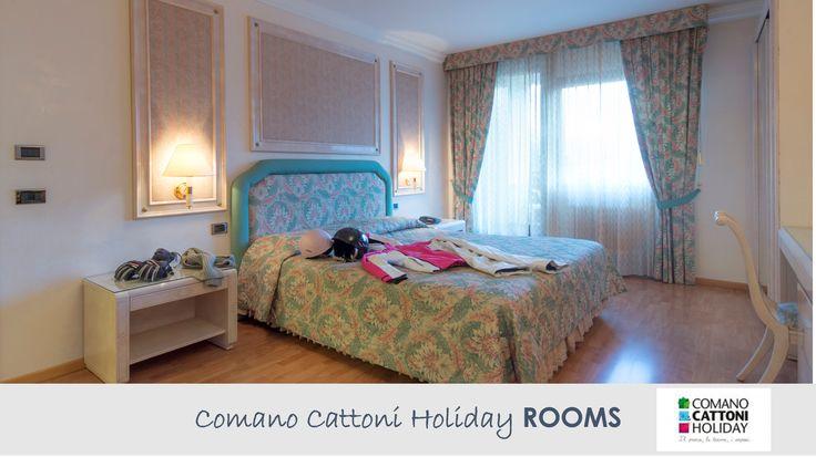 Camera Doppia Comfort + Dormire alle Terme di Comano #comanocattoniholiday #termecomano #holiday #vacanzatrentino
