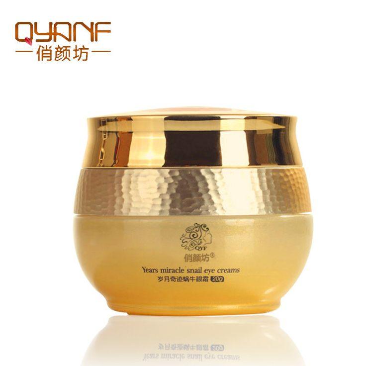 Snail Eye Cream Korea Imported Raw Materials Remover Eye Dark Circle Anti-Puffiness Anti Wrinkle Anti Aging Eye Cream
