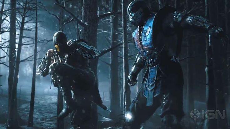 Mortal Kombat X - Scorpion vs Sub Zero | MK | Pinterest ...