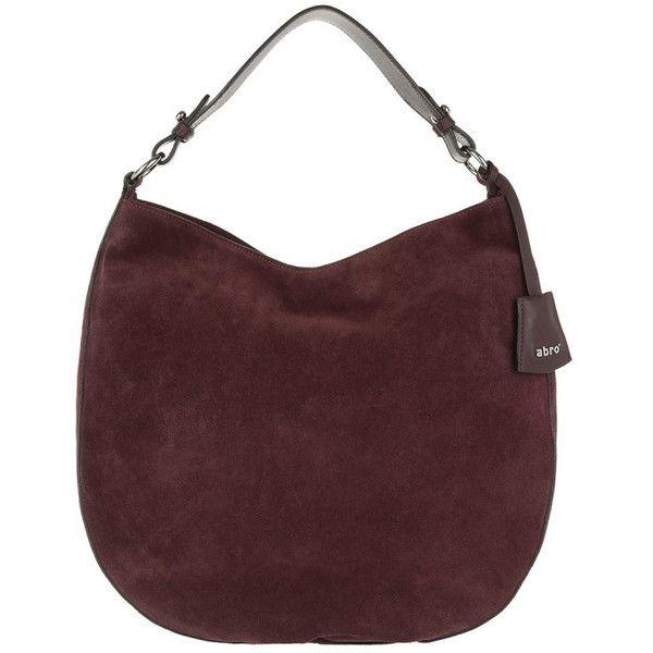 Abro Shoulder Bag - Kaleido Velvet Shoulder Bag Burgundy - in red -... (195 CHF) ❤ liked on Polyvore featuring bags, handbags, shoulder bags, red, shoulder tote bags, red shoulder bag, zip tote bag, handbags totes and man bag