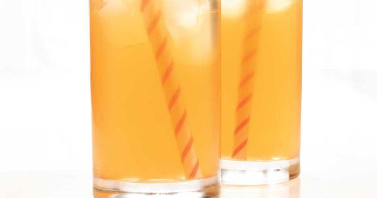 thé rouge glacé au citron
