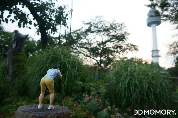 Made by 3D MEMORY Parents Art Miniature!! #3DPrinting #3DMiniauture #artminiature #3DMEMORY #3D메모리 #남산 #Seoul #서울 #travel #남산타워 #Namsantower