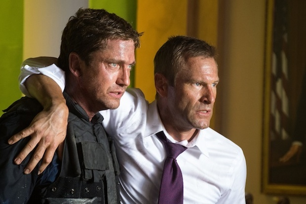 "The ""Olympus Has Fallen"" Cast Comes to Town, Mayhem Ensues 