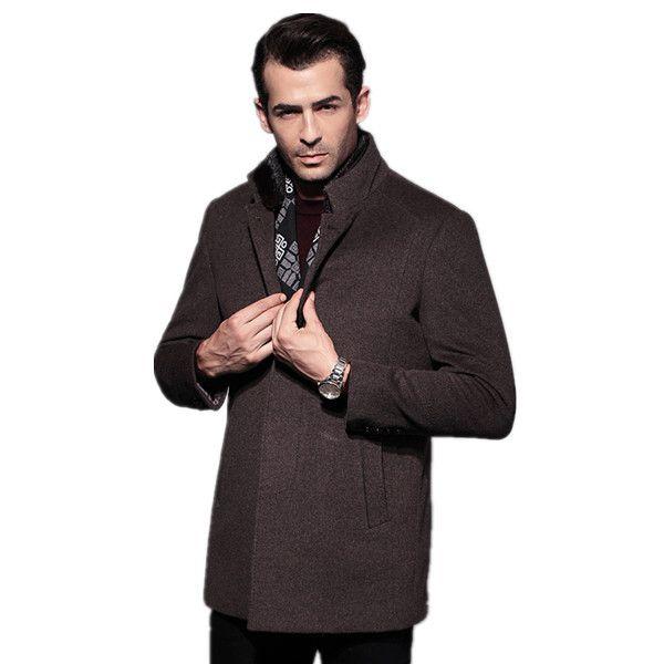 Blends erkek mont masculino casaco men's coat LaBeouf 2016 sobretudo man jacket 100% WOOL & blends t winter jacket for men