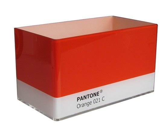 Organize com estilo Pantone. $72.00  - http://decor8.com.br