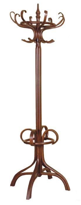 Bambu sekizli ahşap bambu elbise askısı