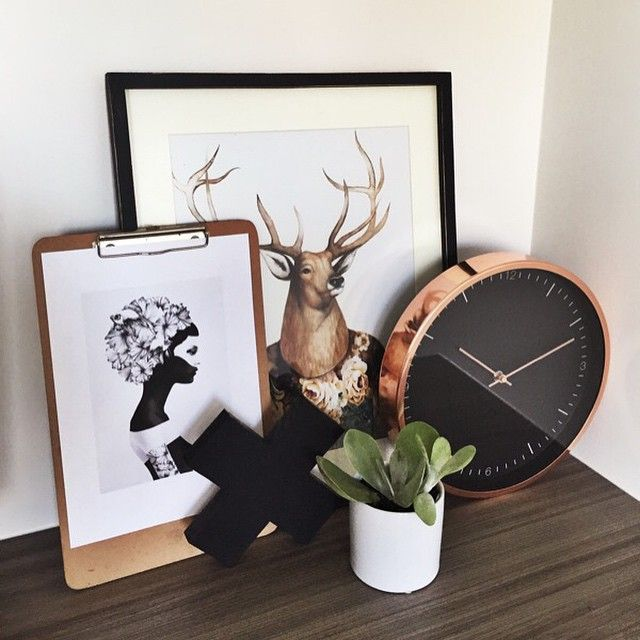 Lisa T Rose Gold Wall Clock. #lisatfortarget @kate.lives.here