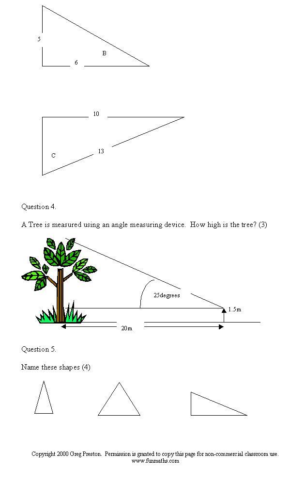 97 best Fun Maths work sheets images on Pinterest | Fun math, Maths ...