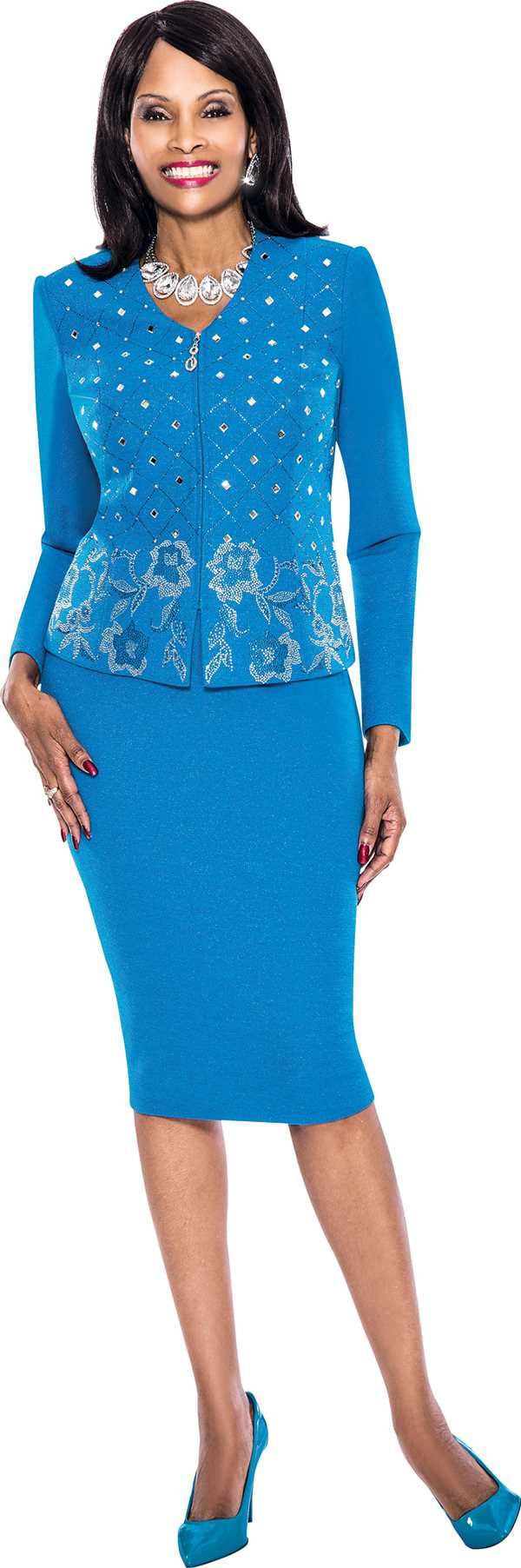 susanna-3714-Teal-skirt-suits-for-church-spring-2016