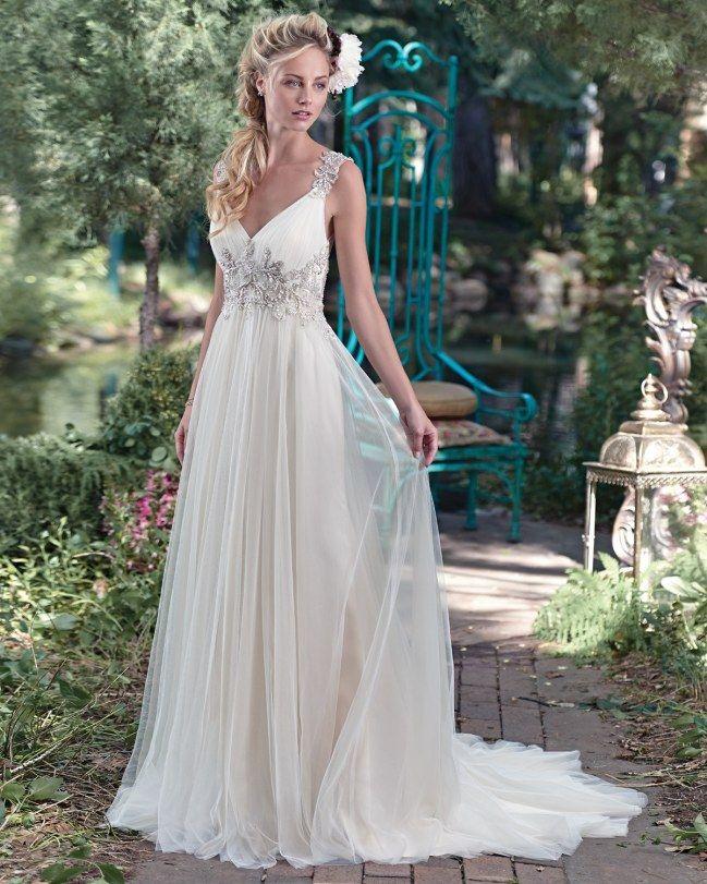 Vestido de noiva: corte império