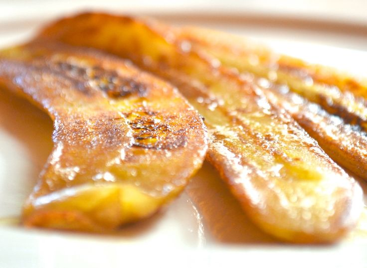 Fried green bananas are not only delicious, they're choc-full of resistant starch - a gut-loving prebiotic. Get more healthy recipes at stirringchange.com.