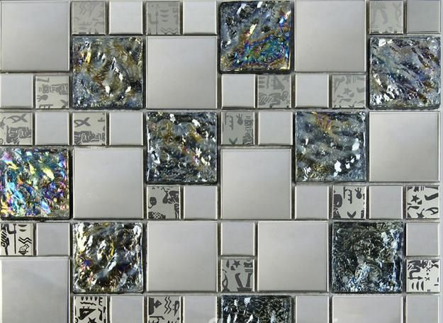 Metal Tiles Modern Curve Adding Contemporary Flair To Interior Design |  Flooring Ideas, Modern Wall And Modern Part 98