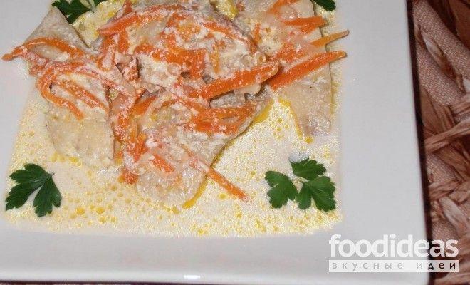 Тушеная рыба - рецепт приготовления с фото | FOODideas.info