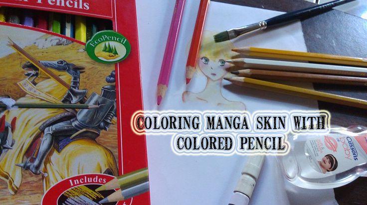 Mewarnai manga skin dengan pensil warna | MAYAGAMI
