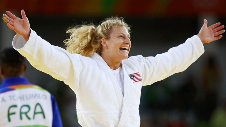 Kayla Harrison repeats as Olympic judo champion with late submission