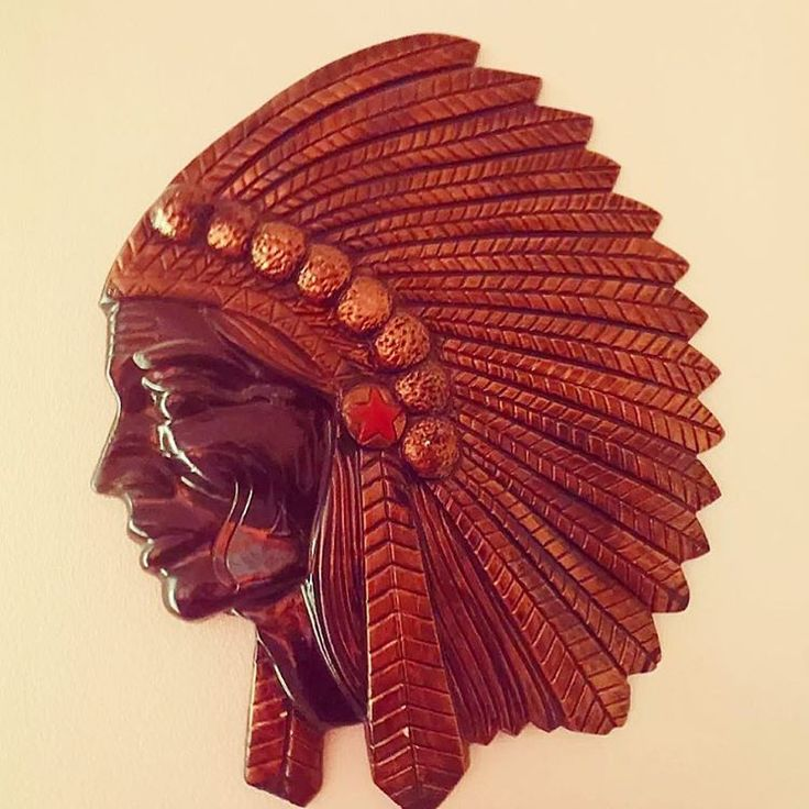 Bronze Indian head added to our bohemian range at The Vintage Way.