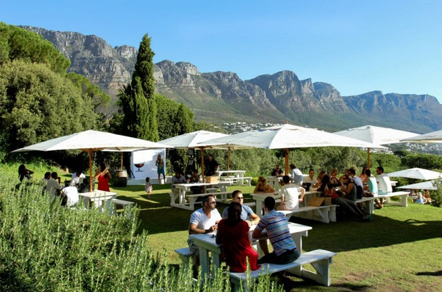best restaurants in Cape Town | the views at Roundhouse are not to be missed.