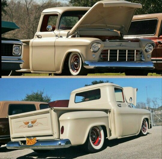 55' Chevy Truck (stance)