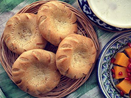 Ёглик кулча - вид узбекской лепешки