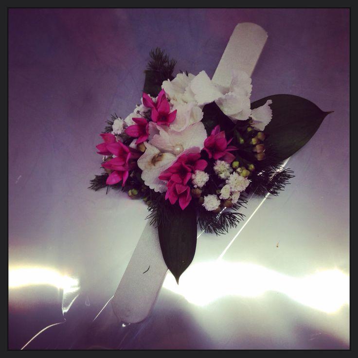 Braccialetto fiori per dame matrimonio