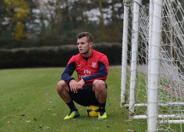 ST ALBANS, ENGLAND - DECEMBER 03: Jack Wilshere of Arsenal during a training sesssion at London Colney on December 3, 2013 in St Albans, England.  (Photo by Stuart MacFarlane/Arsenal FC via Getty Images)