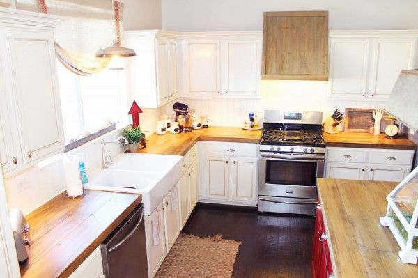Diy Wooden Countertops For The Kitchen Pinterest