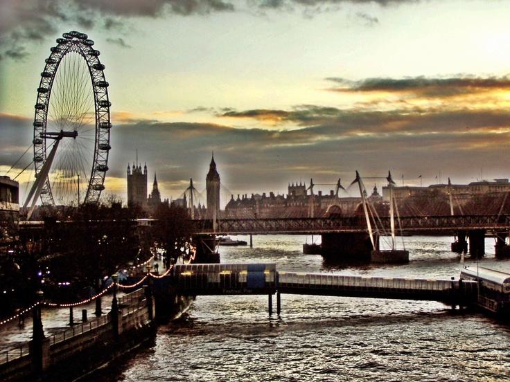 London, Thames, bridges,