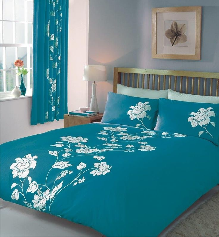 Duvet Cover With Matching Curtains Ed Sheet And Pillow Cases Per Set Double Quilt Bedding